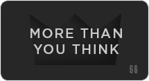 More Than You Think