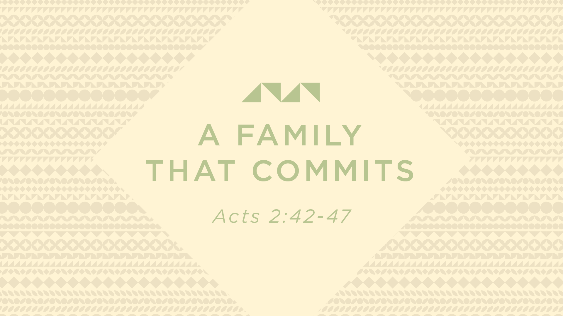 A Family That Commits
