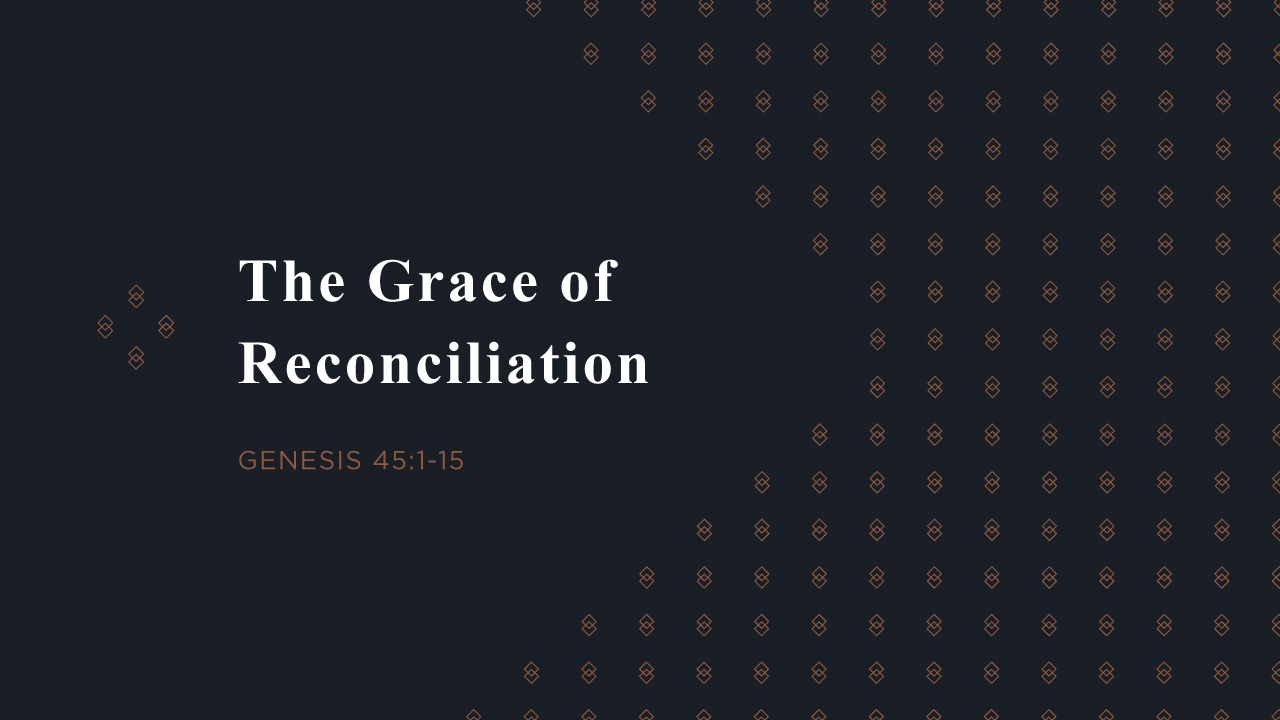 The Grace of Reconciliation