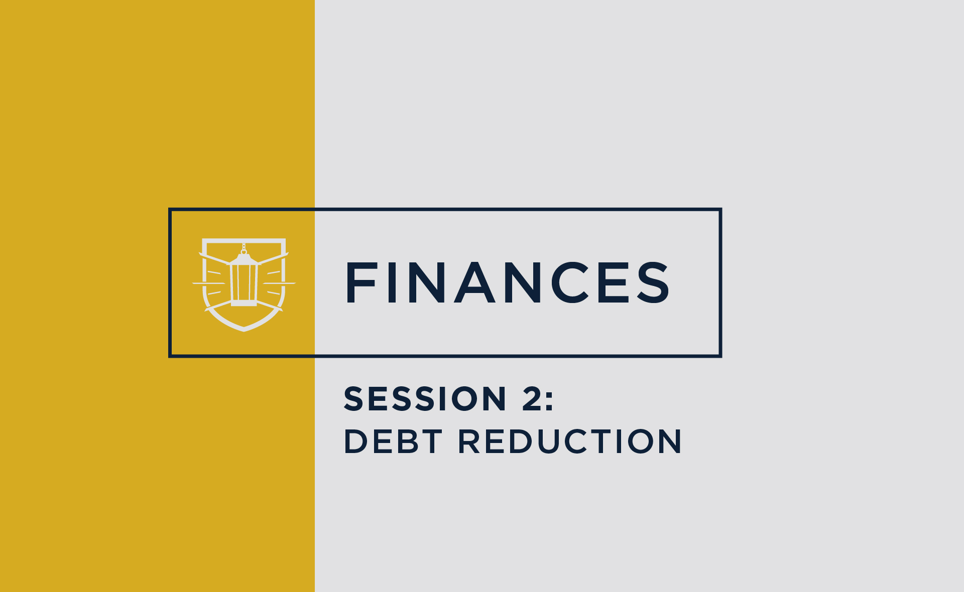 Finances 2: Debt Reduction