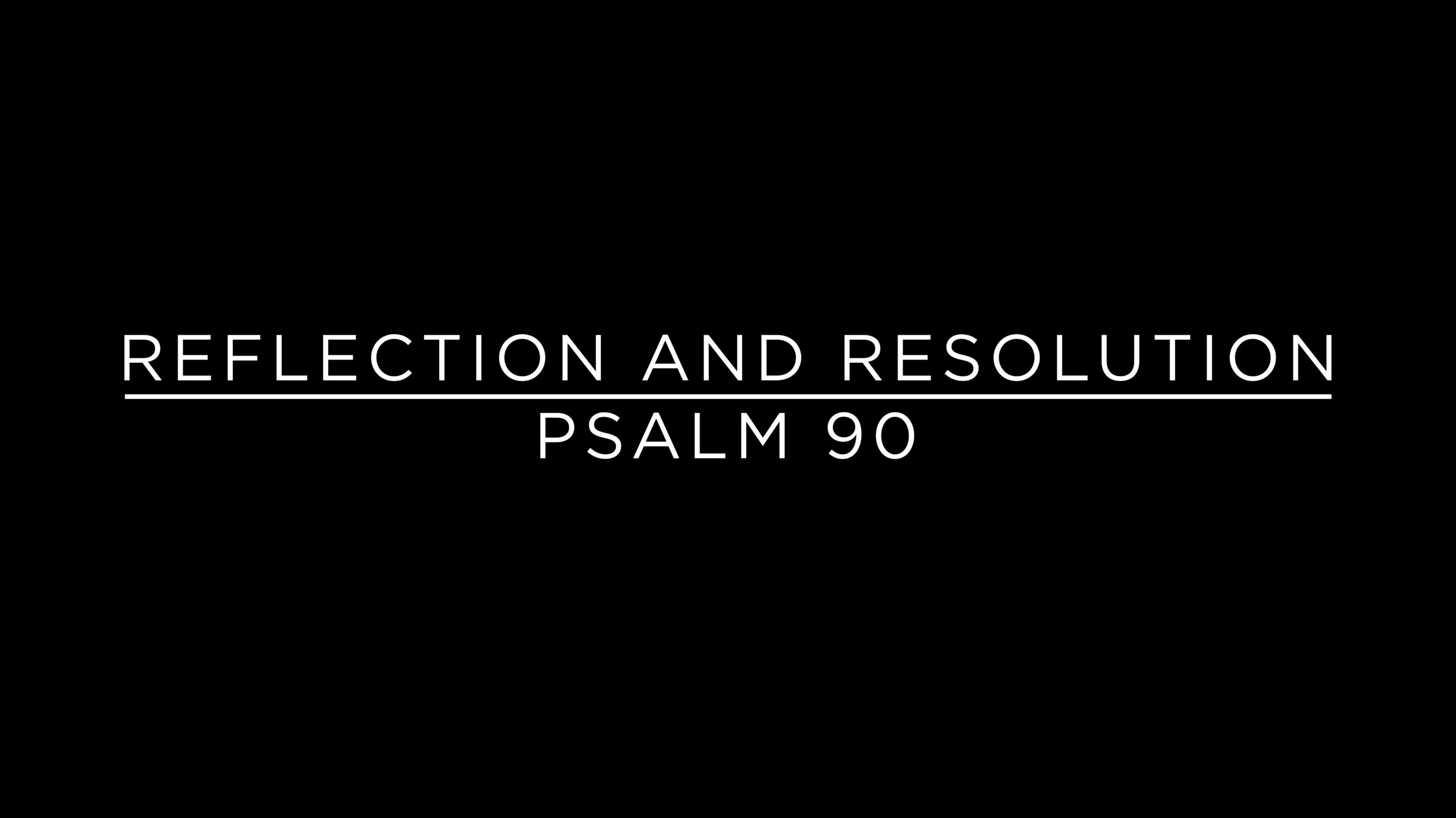 Reflection and Resolution