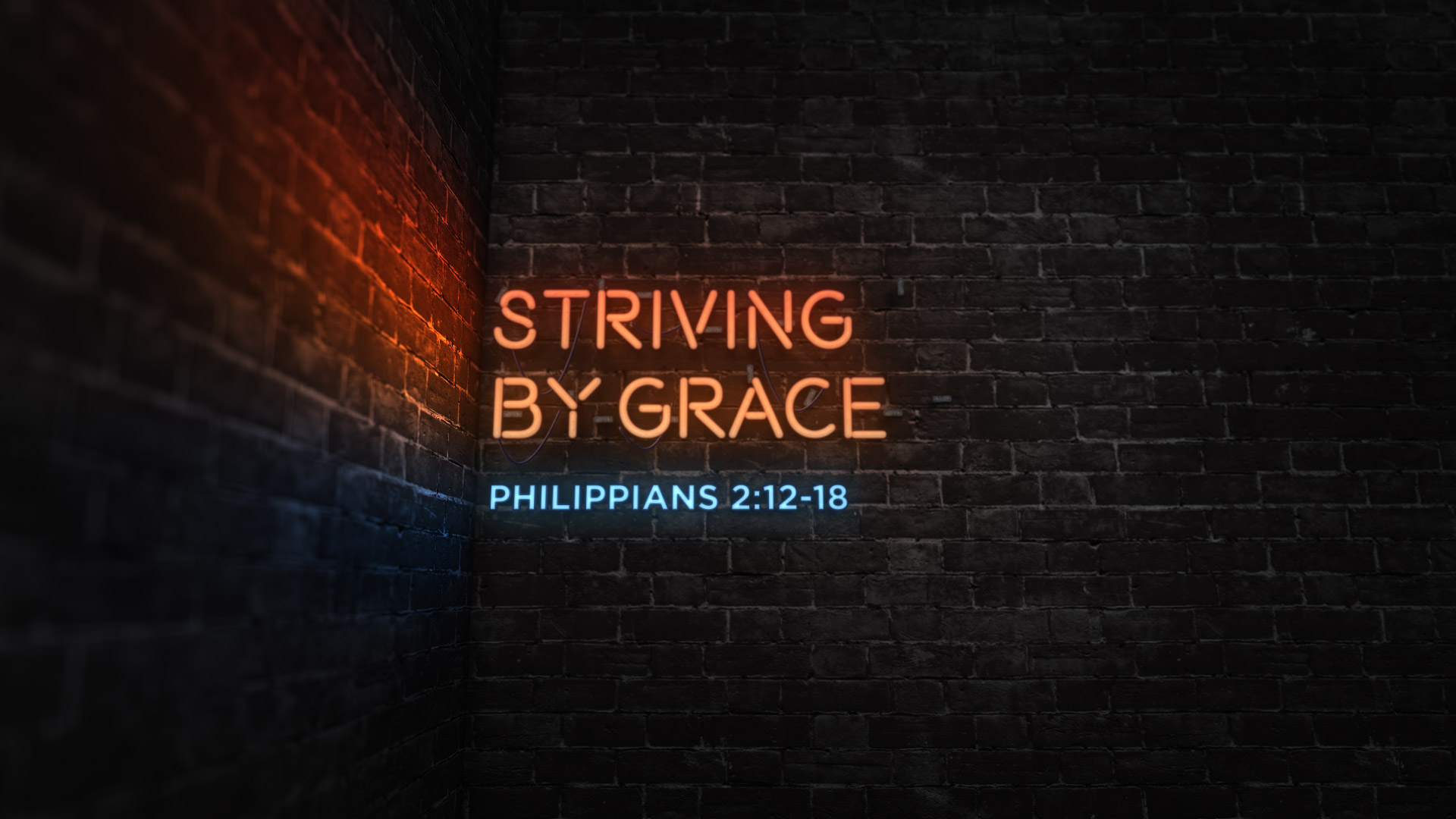 Striving by Grace
